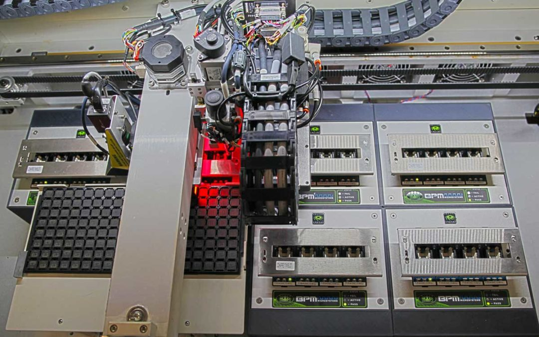 BPM Microsystems Announces a Small Footprint/High Throughput Automated Programmer with 75% More Capacity