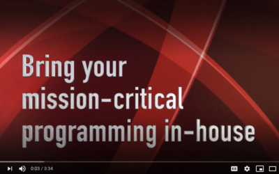 Video: Bring your mission-critical programming in-house