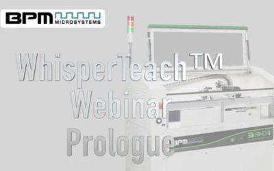 WhisperTeach™ Live Webinar prologue