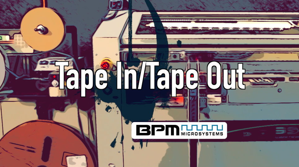 Tape In/Tape Out Video