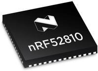 Nordic Semiconductor nRF52810-QFAA-R7 Low Energy Bluetooth